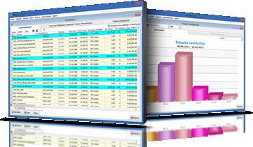 SAGA, ca instrument în contabilitate II